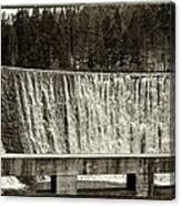 Antique Polish Waterfall Canvas Print