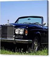 Antique Rolls Royce Canvas Print