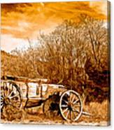 Antique Wagon Canvas Print