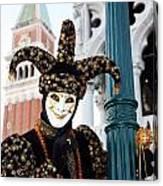 Antonio Below The Tower Canvas Print