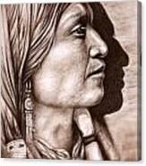 Apache Chief Canvas Print