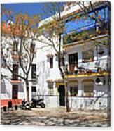 Apartment Houses In Marbella Canvas Print