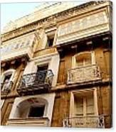 Apartment In Malta Canvas Print