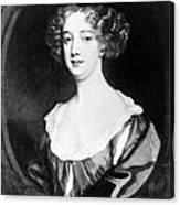 Aphra Behn 1640-1689, English Novelist Canvas Print