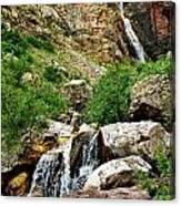 Apikuni Falls Canvas Print
