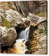 Apikuni Waterfall Canvas Print