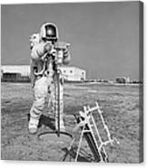 Apollo 13 Astronaut Walks Canvas Print