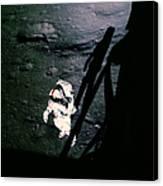 Apollo 14 Astronaut Al Shepard Canvas Print