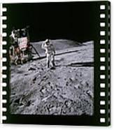 Apollo 16 Astronauts Canvas Print