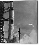 Apollo 8: Launch, 1968 Canvas Print