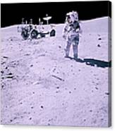 Apollo Mission 16 Canvas Print
