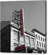 Apollo Theater In Harlem New York No.2 Canvas Print