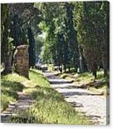 Appian Way In Rome Canvas Print