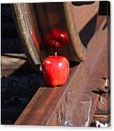 Apple Juice Railroad 4 Canvas Print