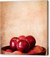 Apples In Color Canvas Print