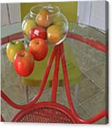 Apples In The Kitchen Canvas Print