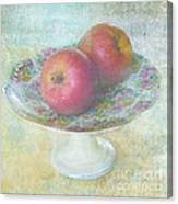 Apples Still Life Print Canvas Print