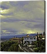 Approaching Storm - Sicily Canvas Print