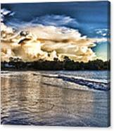 Approaching Storm Clouds Canvas Print