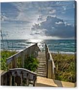 Aqua Seas Canvas Print