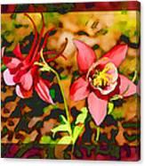 Aqualigia Sunlit Canvas Print
