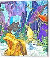 Aquarium Canvas Print
