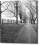 Araby Farm Lane Canvas Print