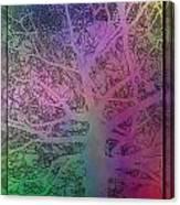 Arboreal Mist 1 Canvas Print