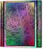 Arboreal Mist Trilogy Canvas Print