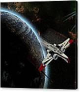 10117 Arc-170 Starfighter Canvas Print