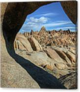Arch Alabama Hills Canvas Print