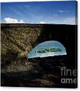 Arch And Islands Canvas Print