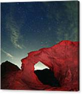 Arch And Stars Canvas Print
