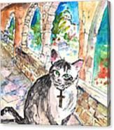 Arch Bishop Of Caterbury Canvas Print