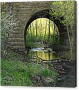 Arch In Spring 3 Canvas Print