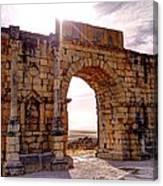 Arch Of Triumph Canvas Print