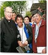 Archbishop Brunett 2007 Canvas Print