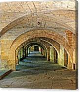 Arched Walkway In Provence Canvas Print