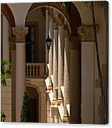 Arches And Columns At The Biltmore Hotel Canvas Print