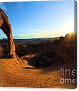 Arches Starburst Canvas Print