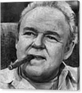 Archie Bunker Canvas Print