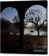 Archs And Trees Canvas Print