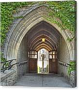 Archway At U Of T Campus Canvas Print