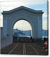 Archway Pier 39 San Francisco Canvas Print