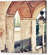 Archway Canvas Print
