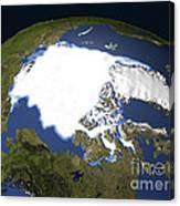 Arctic Sea Ice, 1979 Canvas Print
