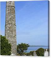 Ardmore Round Tower - Ireland Canvas Print
