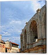 Arena In Arle Provence France Canvas Print