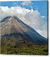 Arenal Volcano Costa Rica Canvas Print