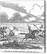 Argentina: Gauchos, 1853 Canvas Print